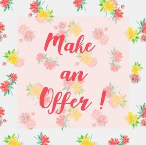 💖MAKE AN OFFER💖